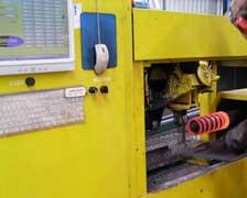 Станок горячей навивки пружин для приизводства, изготовления пружин.